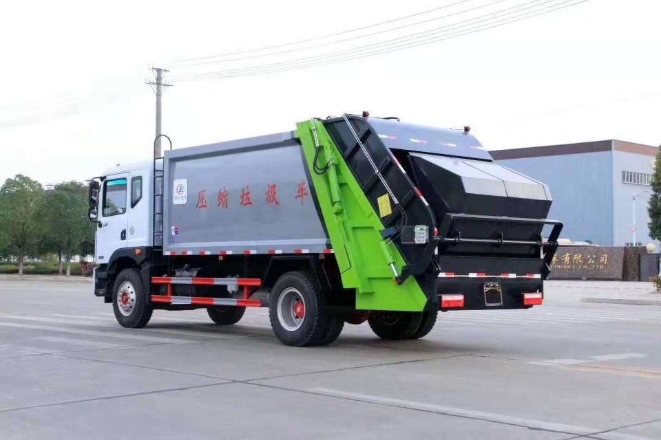 12方压缩式垃圾车