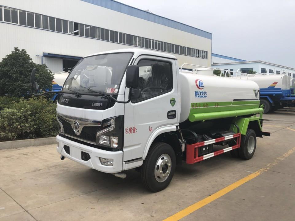 东风福瑞卡5吨国六洒水车