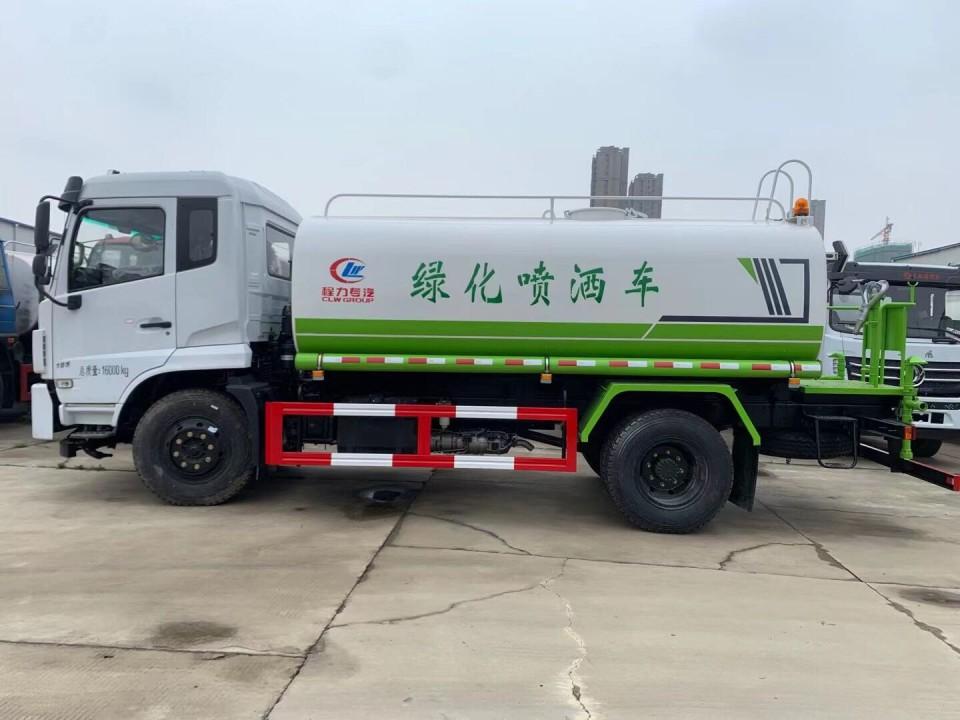 东风12吨洒水车图片